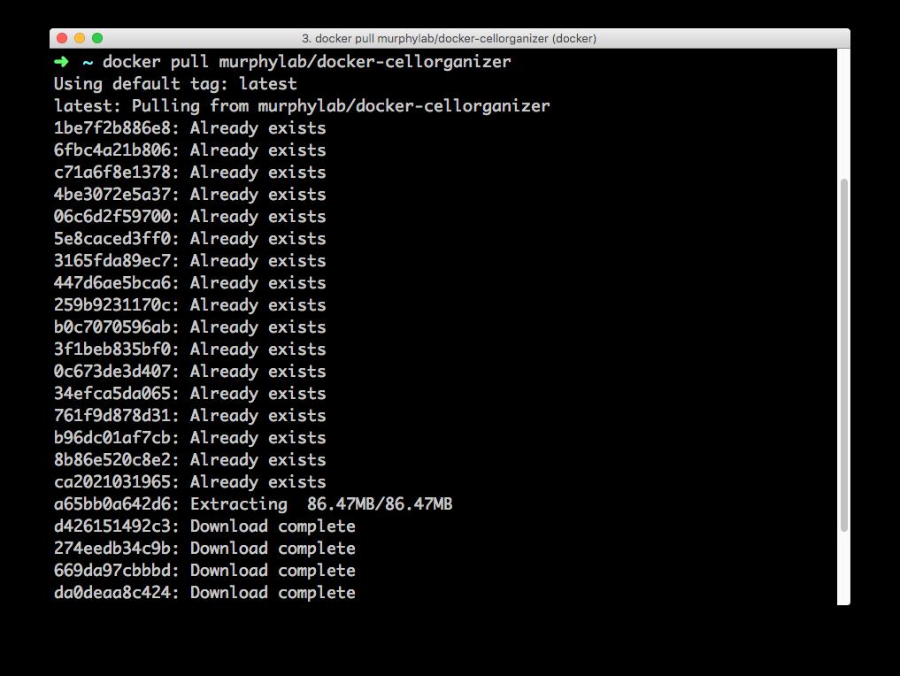 CellOrganizer for Docker — CellOrganizer v2 7 1 documentation